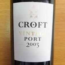 CROFT 2003 VP 375ML