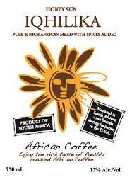 IQHILIKA AFRICAN COFFEE 750ML