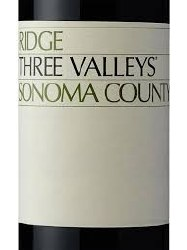 RIDGE ZIN THREE VALLEYS 750ML