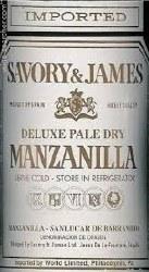 SAVORY&JAMES MANZANILLA 750ML