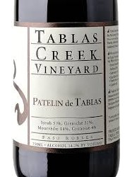 TABLAS CREEK PATELIN 750ML