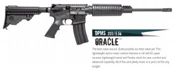 DPMS Panther Oracle AR15