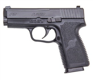 Kahr P9 with Night Sights-Test