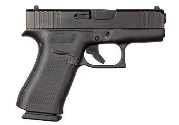 Glock 43X 9mm Blk/Blk