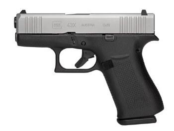 Glock 43X 9mm Fixed Sights