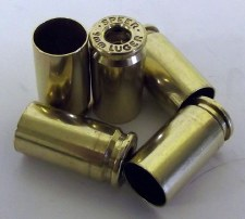 9MM Brass Once Fired, 250 pc
