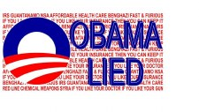 Bumper Sticker: Obama Lied