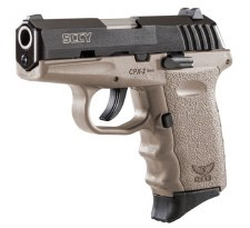 SCCY CPX-2CB, Dark Earth 9mm