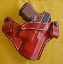 Hanks IWB Holster Glock26 Brn