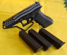 Gen3 Glock17 Am Flag Grey