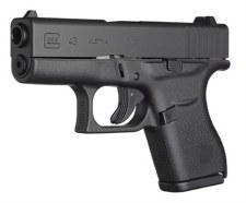 Glock 43 Gen4 9mm (2) 6rd