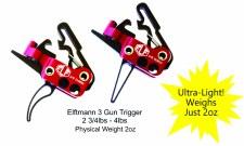 Elf 3-Gun Trigger, Curved Shoe
