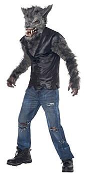 Full Moon Fury Werewolf Child Costume