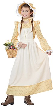 Prairie Pioneer Girl Child Costume