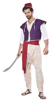 Arabian Folk Hero Aladdin Adult Costume