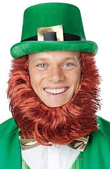 Leprechaun Hat And Beard Set