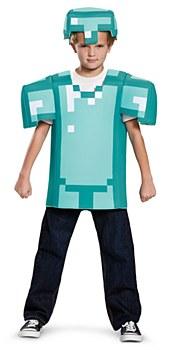 Minecraft Classic Armor Child Costume