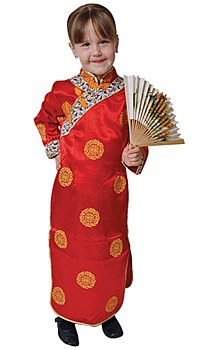 Chinese Girl Toddler Child Costume