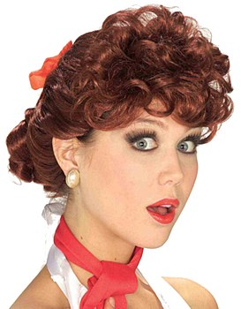 50's Housewife Lucy Wig