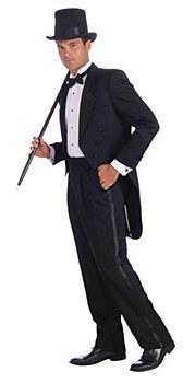 Tuxedo Tail Coat Adult Costume