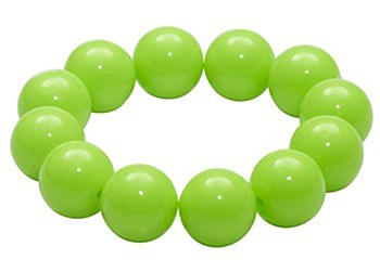 80's Gumball Neon Green Bracelet