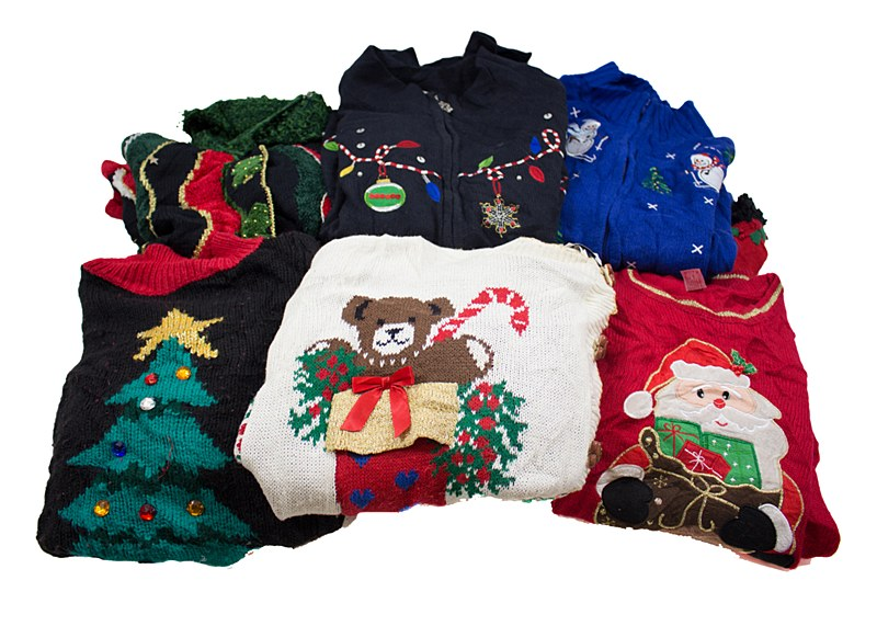 Vintage Christmas Sweaters.Vintage Ugly Christmas Sweater
