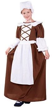 Colonial Girl Teen Costume