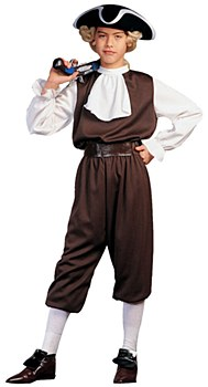 Colonial Boy Child Costume