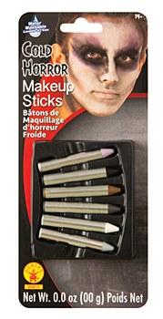 Cold Horror Makeup Sticks Set