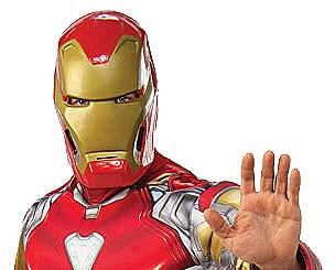 Iron Man Adult Mask