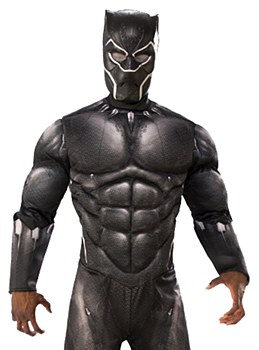 Black Panther Latex Adult Mask