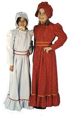 Pioneer Girl Child Costume - Assorted Patterns