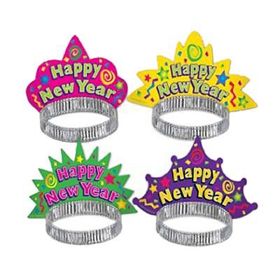 Happy New Year Neon Tiara