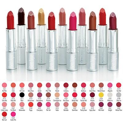 Ben Nye Lustrous Lipstick - Black