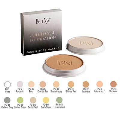 Ben Nye Color Cake Foundation - White 1.3oz