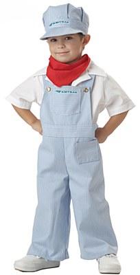 Amtrack Train Engineer Toddler Costume