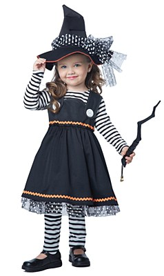 Crafty Lil Witch Toddler Child Costume