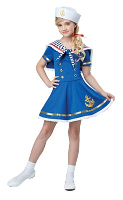 Sunny Sailor Girl Child Costume