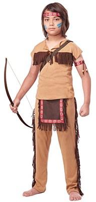 Native American Brave Child Costume