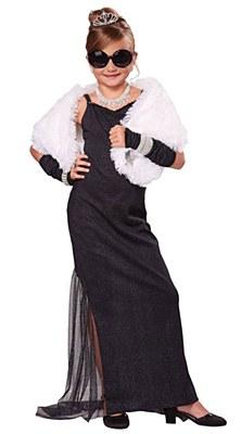 Hollywood Diva Audrey Hepburn Child Costume