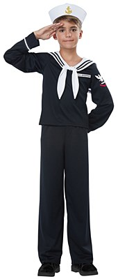 Navy Sailor Boy Child Costume