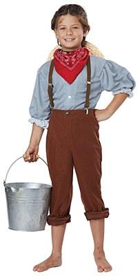 Pioneer Boy Child Costume
