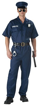 Police Man Adult Costume