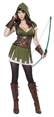 Lady Robin Hood Adult Costume