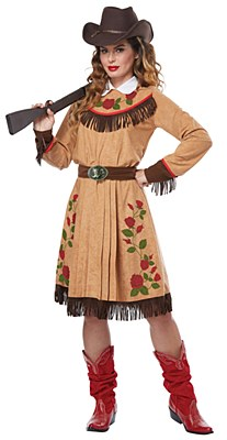 Annie Oakley Cowgirl Adule Costume