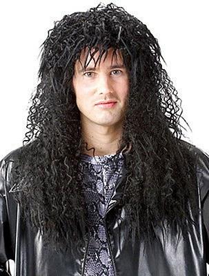 80's Headbanger Heavy Metal Wig