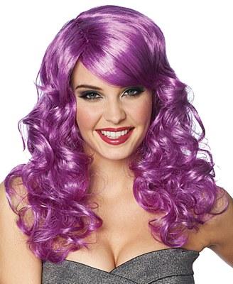 Lolita Curly Purple Wig
