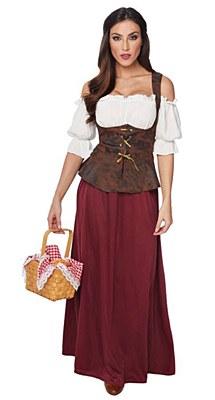 Peasant Lady Adult Costume