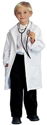 Lab Doctor Coat Child Costume