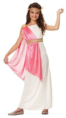 Roman Empress Child Costume